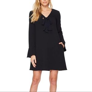 Donna Morgan Women's V Shift Dress with Tie